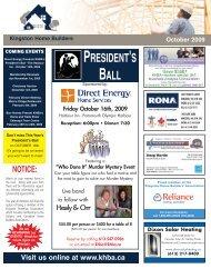 0909 KH Newsletter.qxp - Kingston Home Builders
