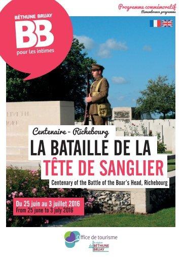 LA BATAILLE DE LA TÊTE DE SANGLIER