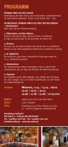 Alte Saline Bad Reichenhall: Abendführungen 2016 - Seite 2