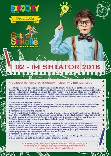 Broshura Gati per Shkolle 2016