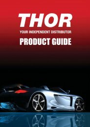 THOR Product Guide 2016