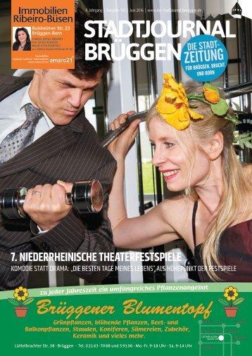 Stadtjournal Brüggen Juni 2016