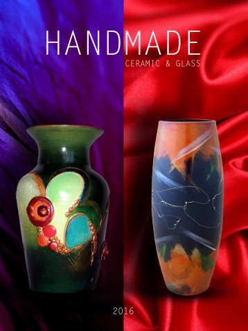 Ceramic and glass hand made products catalog-big version