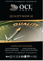 OCL-QUA-01 Quality Manual