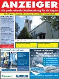 Anzeiger Ausgabe 25/16