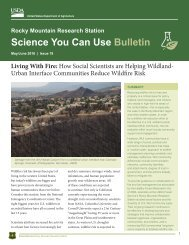 Science You Can Use Bulletin