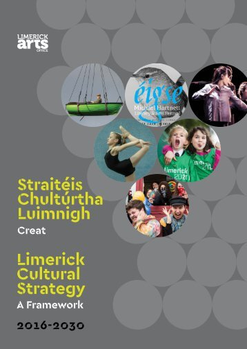 Chultúrtha Luimnigh Limerick Cultural Strategy