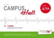 Campus-aktuell -2016 - 4 - Juni