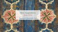New Acquisitions June 2016