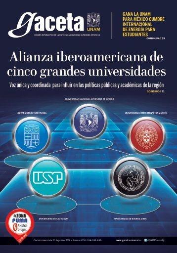 Alianza iberoamericana de cinco grandes universidades