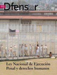 Ley Nacional de Ejecución Penal y derechos humanos