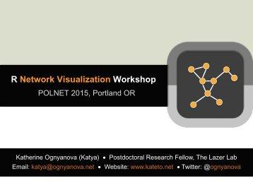 R Network Visualization Workshop
