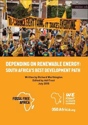 Depending on Renewable Energy