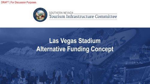 Las Vegas Stadium Alternative Funding Concept