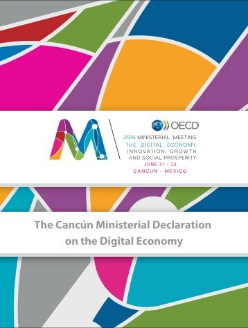 The Cancún Ministerial Declaration on the Digital Economy
