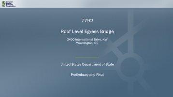 7792 Roof Level Egress Bridge