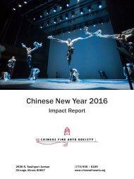 CFAS CNY2016 Impact Report