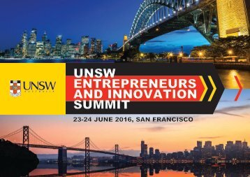 UNSW ENTREPRENEURS AND INNOVATION SUMMIT