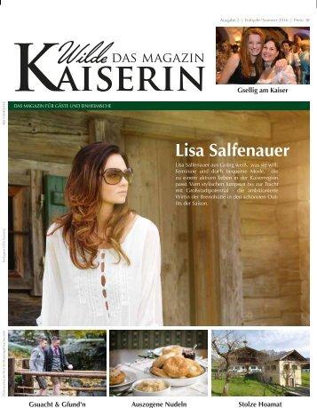 Wilde Kaiserin Frühjahr/Sommer 2016