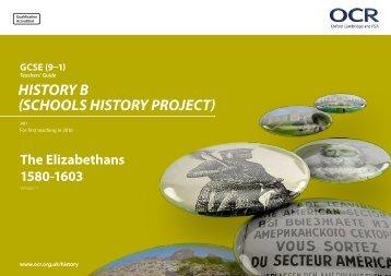 HISTORY B (SCHOOLS HISTORY PROJECT)