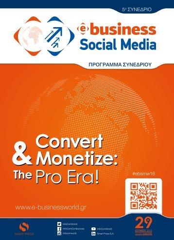 5th E-Business/Social Media World 2016 - Program