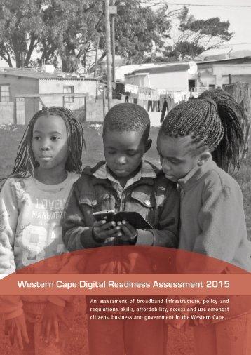 Western Cape Digital Readiness Assessment 2015