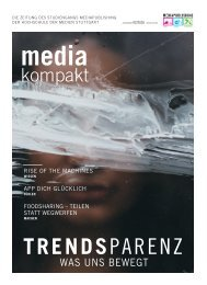 MEDIAkompakt 20: Trendsparenz