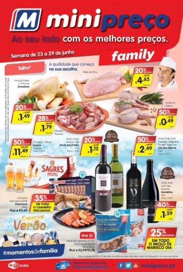 Folheto Minipreço Family