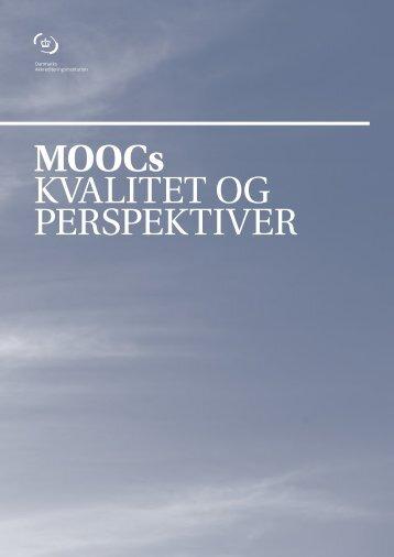 MOOCs KVALITET OG PERSPEKTIVER