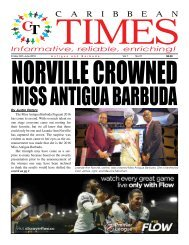 Caribbean Times 37th Issue - Friday 24th June 2016