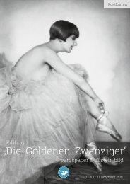 """Edition """"Die Goldenen Zwanziger"""" paruspaper & ullstein bild - 2016"""