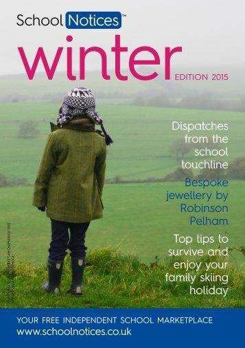 Winter Edition 2015