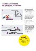 Anleitung Glasfaser Verlängerungskit - Seite 4