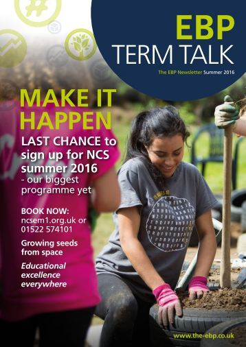 Term Talk Summer 2016