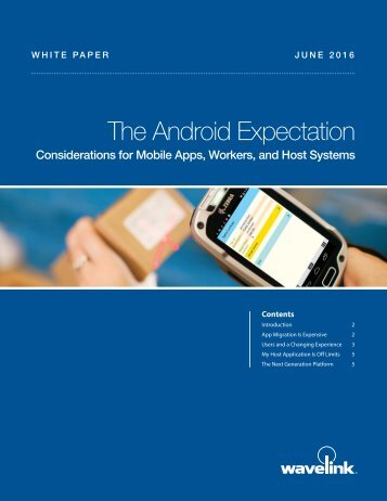 The Android Expectation