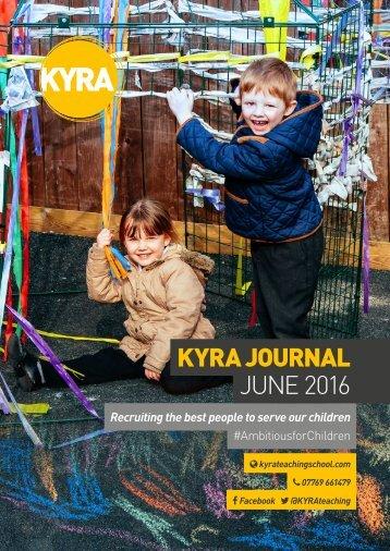 KYRA JOURNAL JUNE 2016