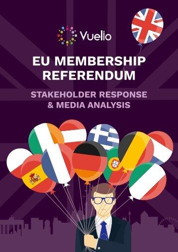EU MEMBERSHIP REFERENDUM