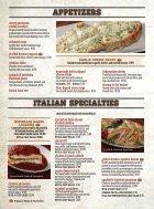 Pane's Restaurant - Breakfast/Lunch Menu - Page 2