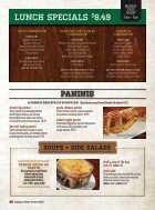 Pane's Restaurant - Breakfast/Lunch Menu - Page 3