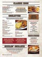 Pane's Restaurant - Breakfast/Lunch Menu - Page 7