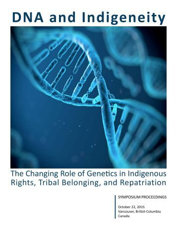 DNA and Indigeneity