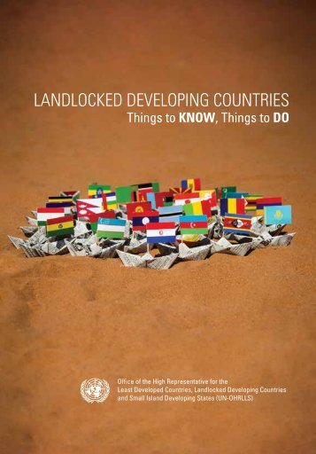 LANDLOCKED DEVELOPING COUNTRIES