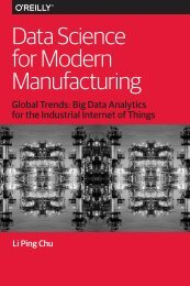 Data Science for Modern Manufacturing