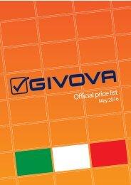 GIVOVA Preisliste
