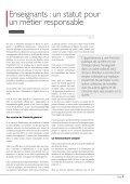 Enseigner  quel travail ? - Page 7
