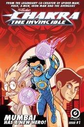 Chakra The Invincible - The Graphic Novel