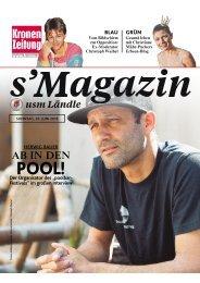 s'Magazin usm Ländle, 26. Juni 2016
