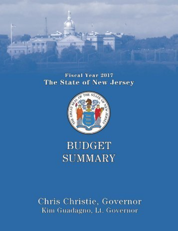 The Governor's FY 2017 Budget