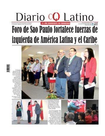 Edición 25 de Junio de 2016