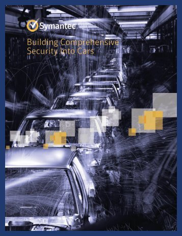 Building Comprehensive Security Into Cars